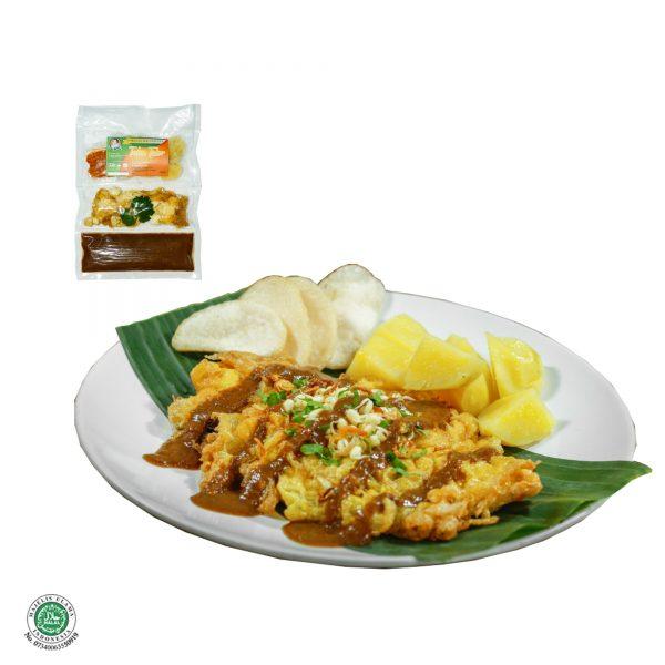 Fresh Frozen Food Tahu Telor