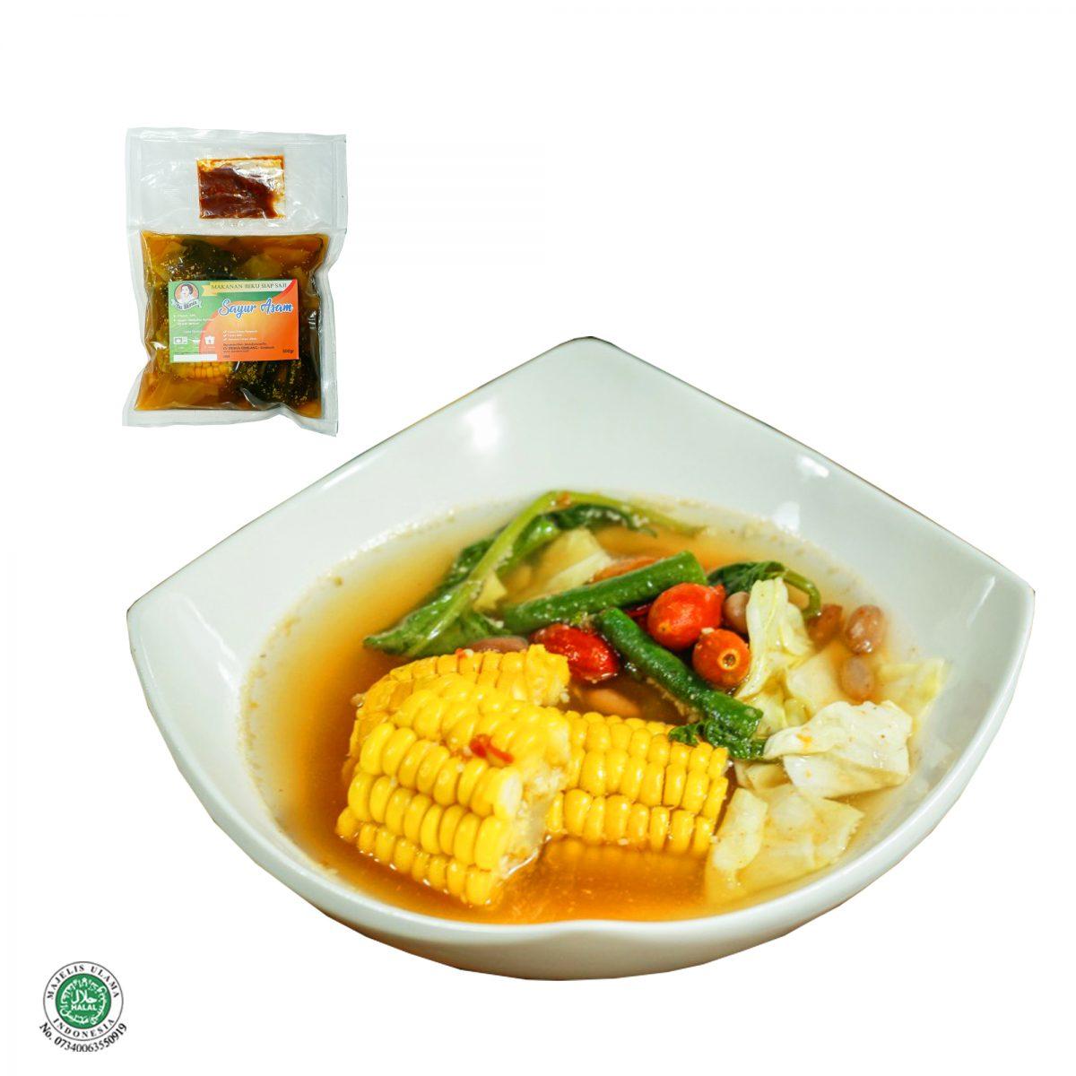 Fresh Frozen Food Sayur Asem