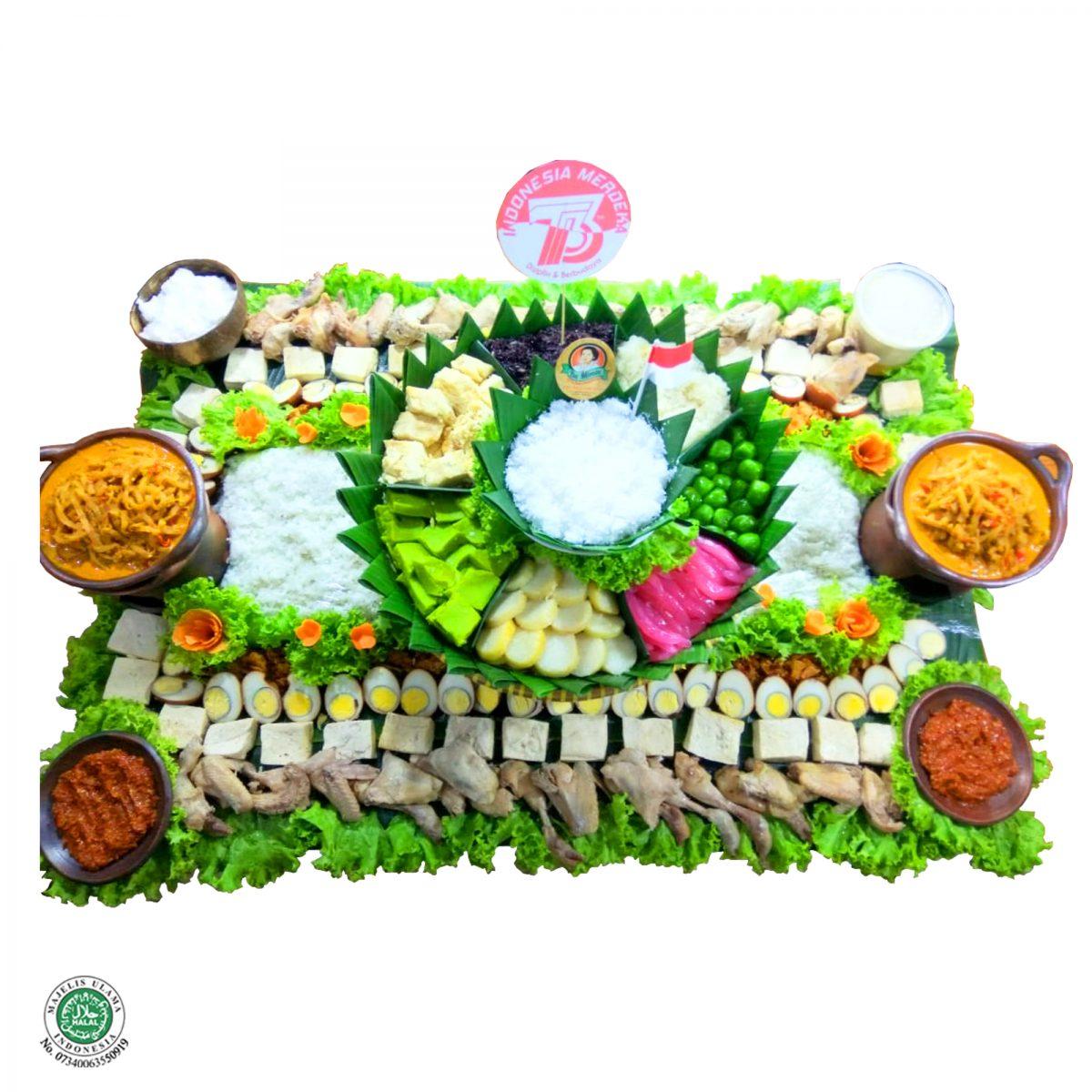 Kroyokan Nasi Liwet + Snack - 20 Porsi