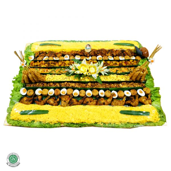 Kroyokan Nasi Kuning - 20 Porsi