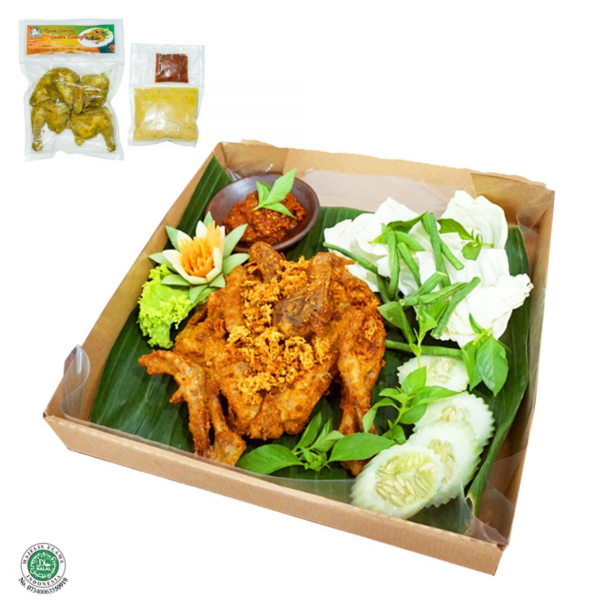 Fresh Frozen Food Ayam Kuning Utuh
