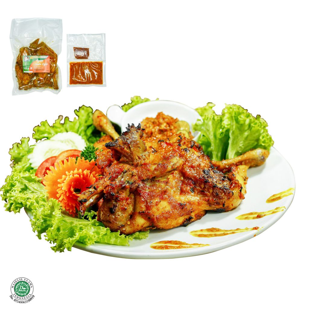 Fresh Frozen Food Ayam Bumbu Rujak Utuh