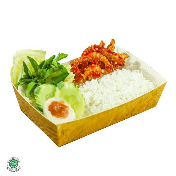 Nasi Udang Balado